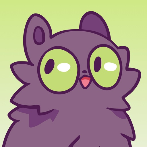 Echo the Cat Stickers by Jason Stoff