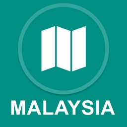 Malaysia : Offline GPS Navigation
