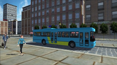 Public Bus Transport Simulation: Driving in City screenshot three