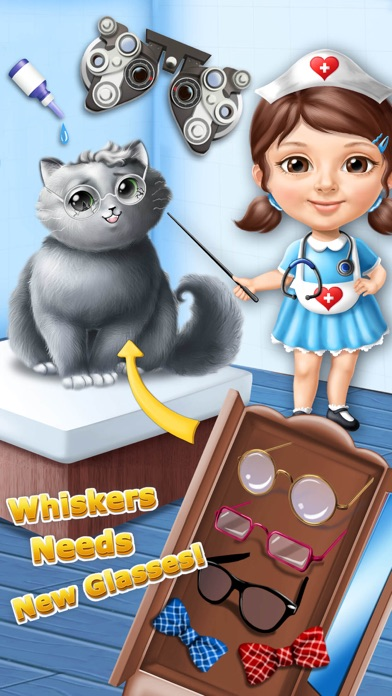 Sweet Baby Girl Cat Shelter – No Ads screenshot 2