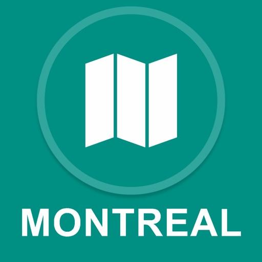 Montreal, Canada : Offline GPS Navigation