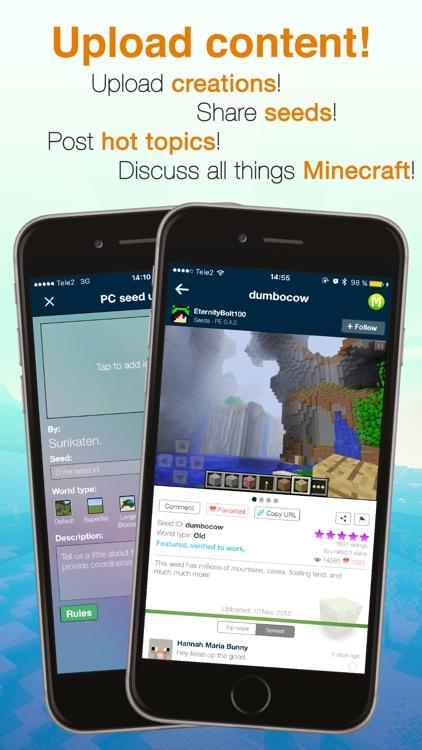Seeds Pro For Minecraft - Server, Skins, Community screenshot-4