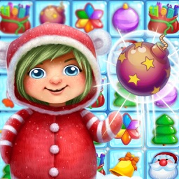 Christmas Crush - Puzzle games to match candy PRO