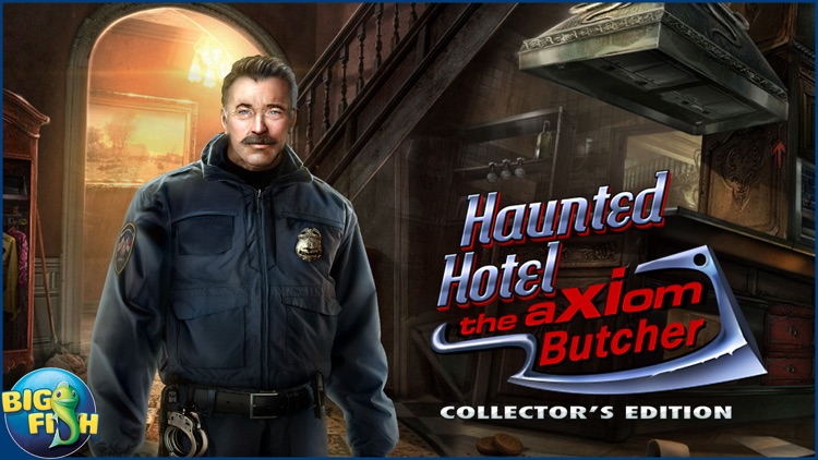Haunted Hotel: The Axiom Butcher - Hidden Objects screenshot-4