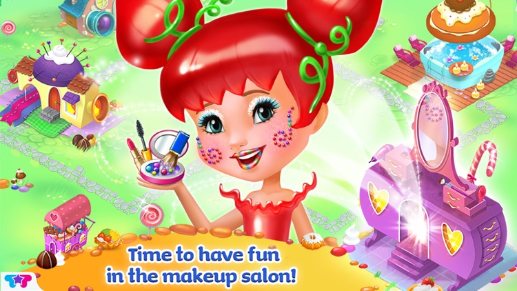 Candy Girl Resort: Sweet Spa & Fashion Designer screenshot-3