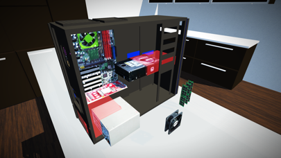 Computer Building Simulator Screenshot