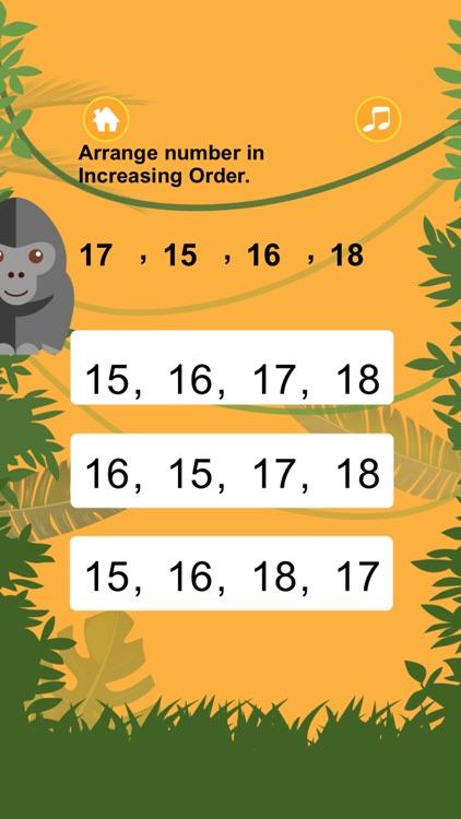 Monkey Splash Math Tutoring for Second Grade by Kammanee Thamhin