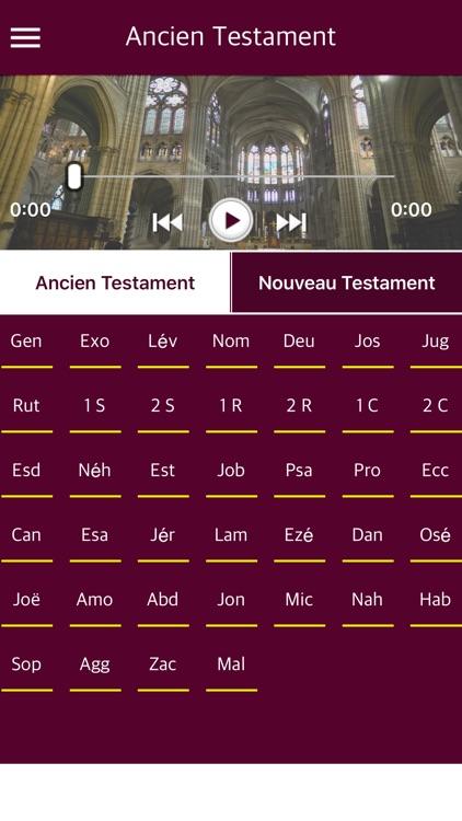 French Bible with Audio - La Sainte Bible audio app image