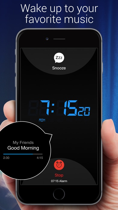 Screenshot for Alarm Clock for Me in Ireland App Store