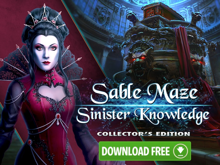 Sable Maze: Sinister Knowledge HD - Hidden Objects screenshot-4