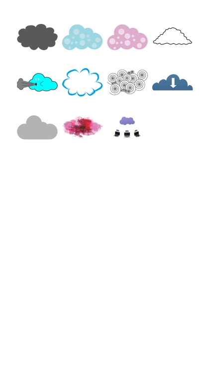Cloud Sticker Pack!