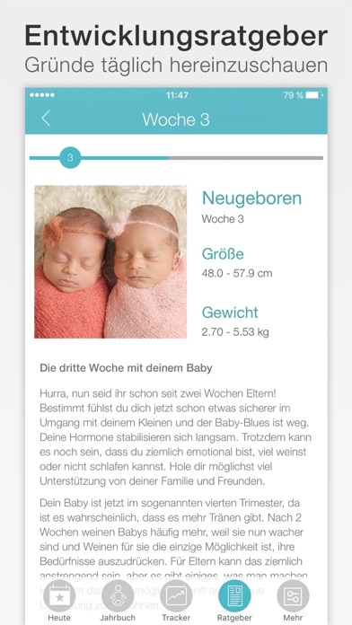 Screenshot for Baby + in Germany App Store