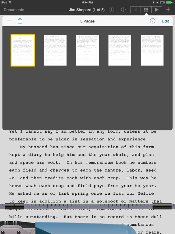 Typing Writer screenshot-2