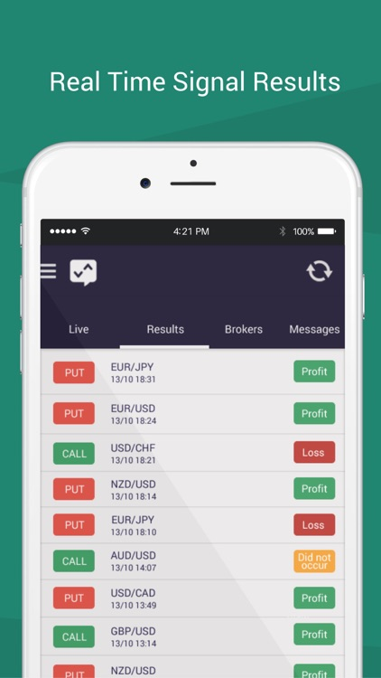 Binary options trading signals ios apps new sports betting show