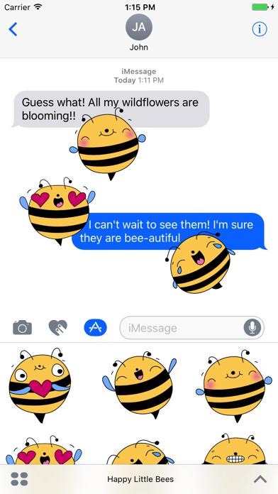 Happy Little Bees