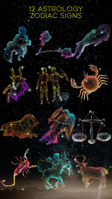 Zodiac - Astrology Constellation Stickers screenshot 1