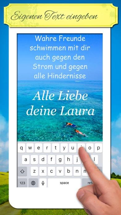 Freundschafts-Spruchbilder - Zitate Sprüche Bilder screenshot 3