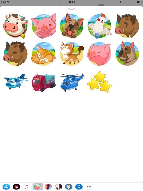 Jolly Days Farm - Sticker Pack screenshot 2