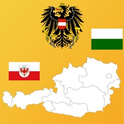 Austria State Maps, Flags and Capitals