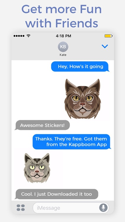 Cat Heads Emoji Stickers