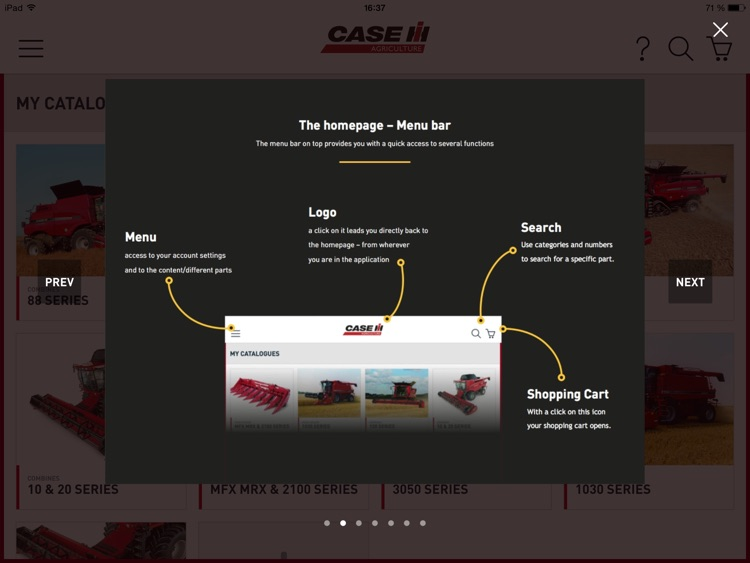 Case IH Harvesting parts screenshot-0