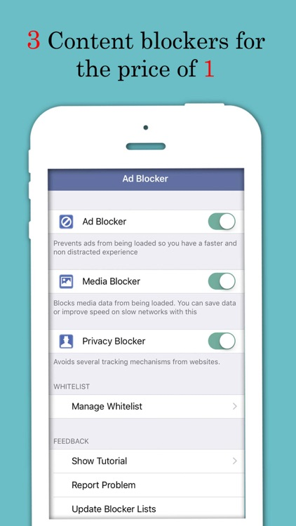Ad Filter - Block and Filter all Ads away!