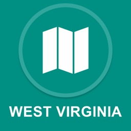 West Virginia, USA : Offline GPS Navigation