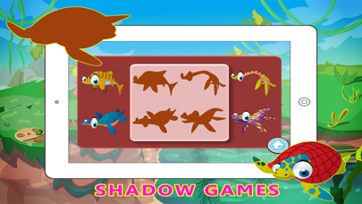 Water Dinosaur Learning - Kids Puzzle Color Pages screenshot three