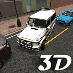 3D Car Parking Simulator Game - City Car Driver