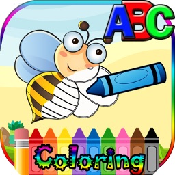 ABC Animal Coloring and Vocabulary