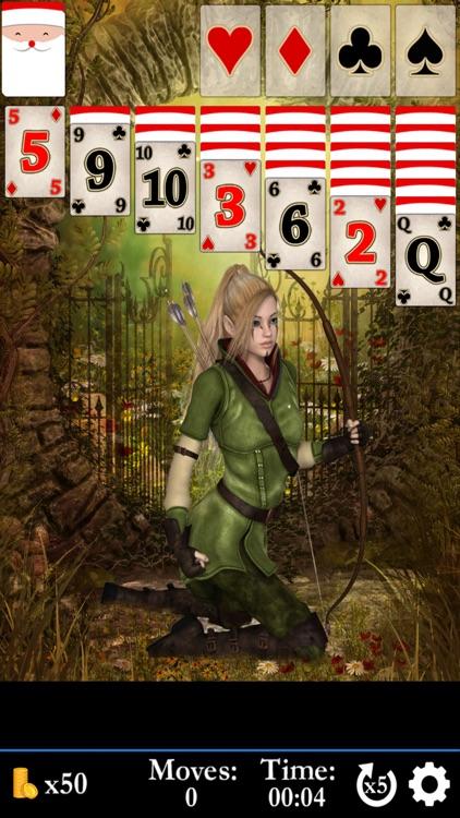 Hidden Solitaire - Elven Woods