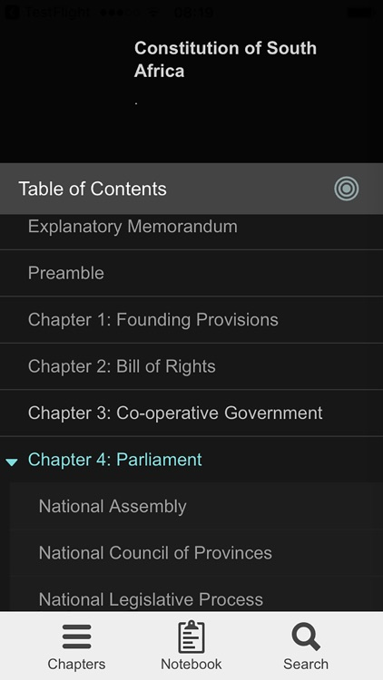 Constitution of South Africa screenshot-3