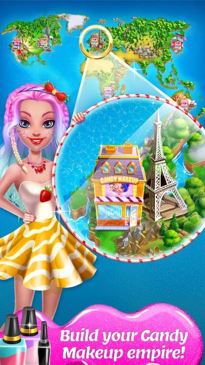 Candy Makeup - Sweet Salon Game for Girls screenshot-4