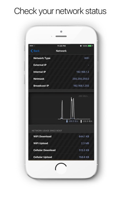 System & Network Info - System monitor