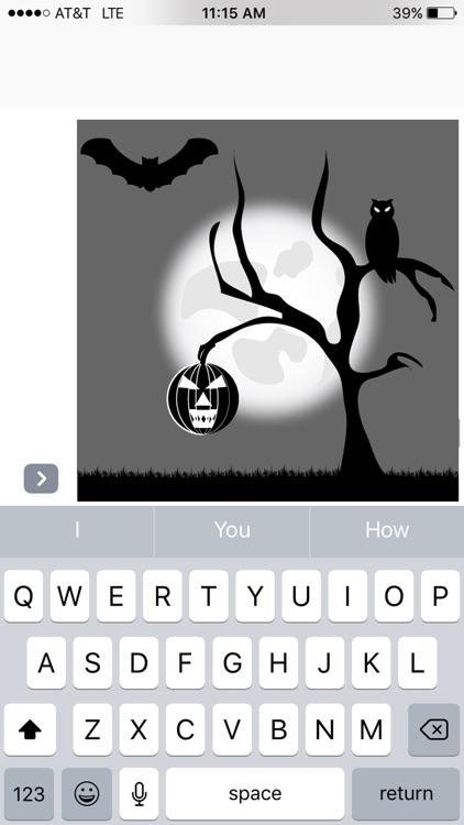 Boo Sticker