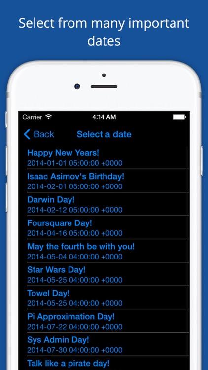 Pi Day Countdown screenshot-3