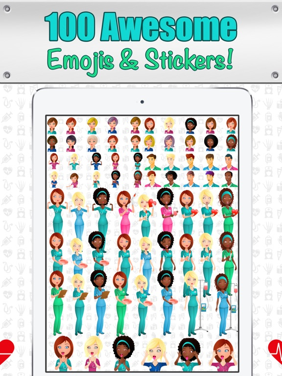 NurseMoji - All Nurse Emojis and Stickers! Screenshots