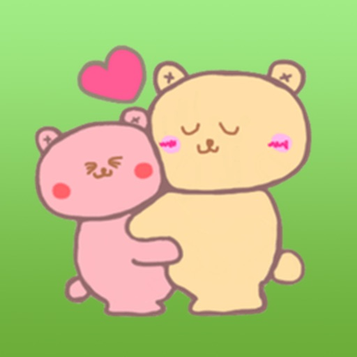 Couple Bear Stickers Pack icon
