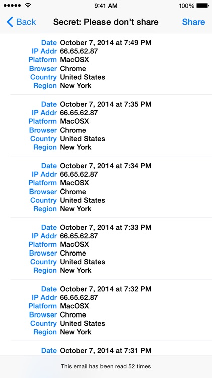 iTrackMail - Easy Email Tracking and Read Receipts screenshot-3
