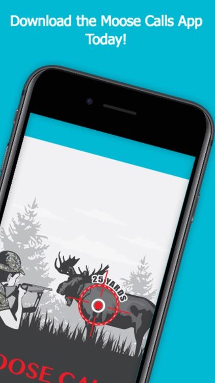Moose Calls for Big Game Hunting screenshot-3
