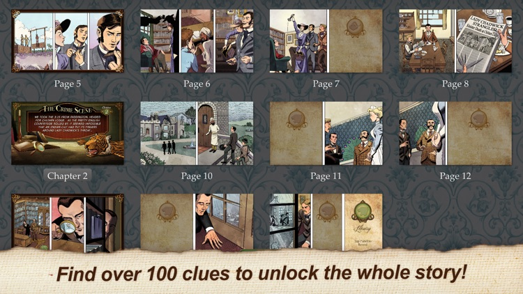 Sherlock Holmes: The Last Breath (Ink Spotters) screenshot-4