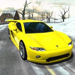 Frozen Track Speed Drifting Car Race