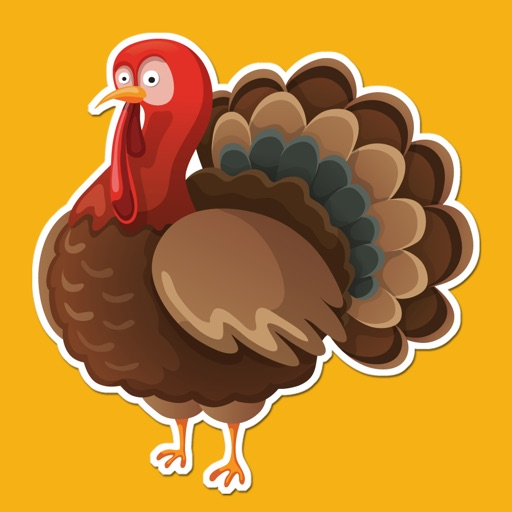 Happy Thanksgiving Fall and Autumn Sticker Pack