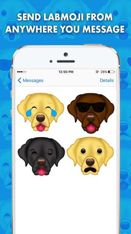 LabMoji - Labrador Retriever Emoji & Stickers! screenshot-0