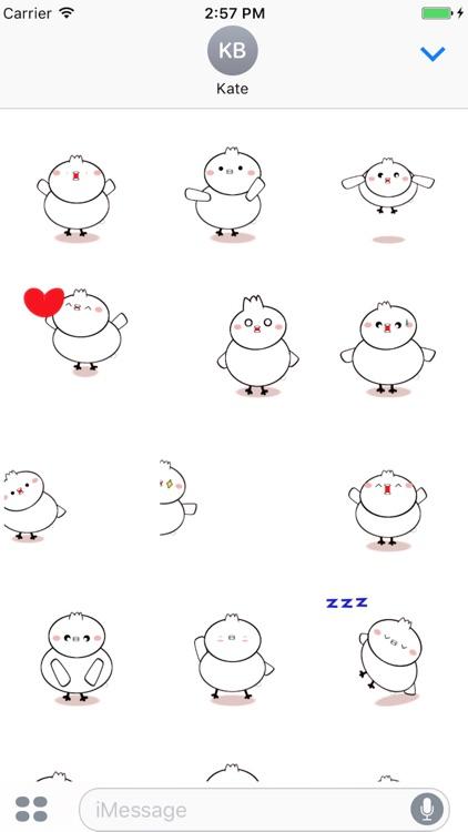 Bird Moving Sticker