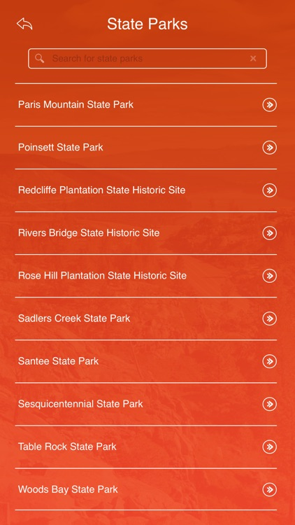 South Carolina State Parks & Trails screenshot-2