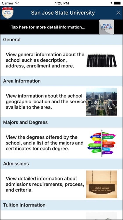 college atlas trip planner by e step consulting inc