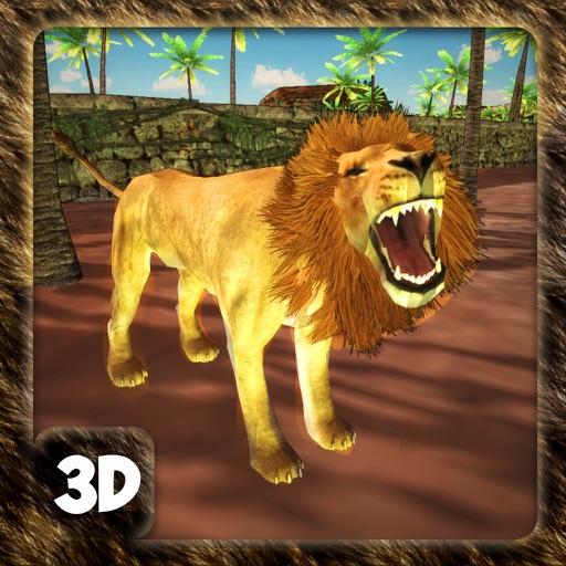 Симулятор дикого льва - охотник за животными джунг