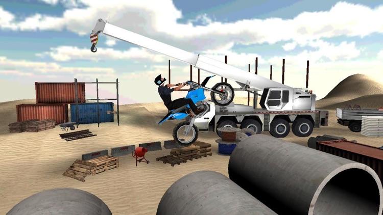 Dirt Motor-Bike Game: Stunt Challenge screenshot-4