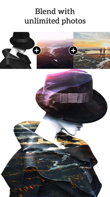 Photo Blender - Double Exposure & SuperImpose Pics